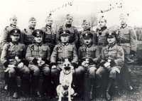 Żandarmi niemieccy w Osjakowie