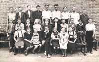 Ostatnia klasa Szkoły Powszechnej 1946